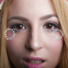 Giselle pink colored contact lenses/circle lenses