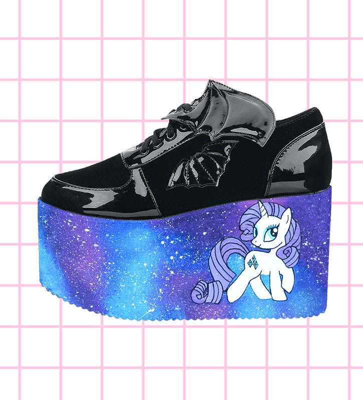668fe569428c Home   Custom Shoes   Platform Shoes   My Little Pony Inspired YRU