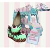 mint green choco flatforms custom handmade pastel dreams ice cream cake pastel cute kawaii sweet