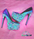 sirens high heels made by pastel-dreams, custom made handmade mermaid fantasy