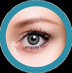 Freshtone Vibrant Caribbean Aqua colored contact lenses cosmetic lens natural lenses korean lenses