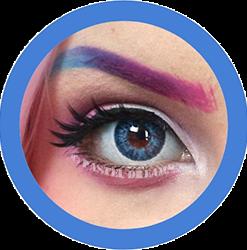 freshtone blue cosmetic contact lenses, circle lenses, colored contacts,natural lenses,eye lens, coloured lenses