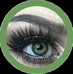 freshtone spring green cosmetic contact lenses, circle lenses, colored contacts,natural lenses,eye lens, coloured lenses