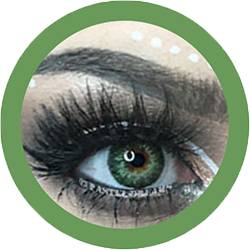 freshtone spring green cosmetic contact lenses, circle lenses, colored contacts,natural lenses,eye lens, coloured lenses