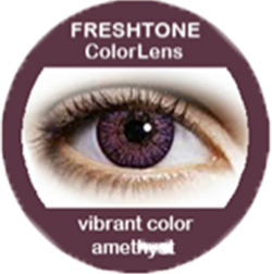 freshtone vibrant amethyst cosmetic colored contact lenses