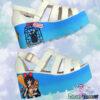kikis delivery platform sandals handmade pastel dreams blue white kawaii cute harajuku