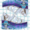 miku hatsune anime sandals white puprle blue cute kawaii japan pastel goth