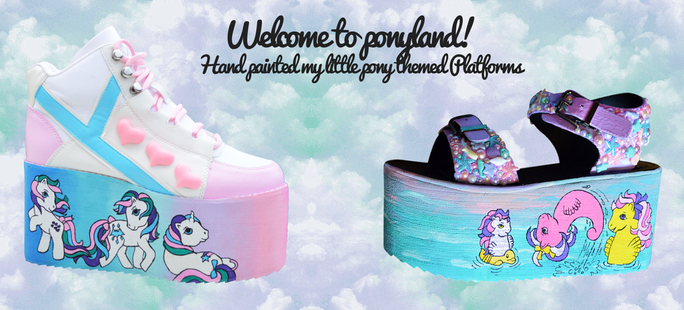 bd5ccc4787d Cart. No products in the cart. Home   Custom Shoes   Platform Shoes   My  Little Pony Inspired YRU