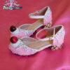 ice cream, cupcake, cake, custom shoes, pastel goth, kawaii, girls shoes in strawberry - vanilla