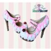 ice cream cupcake cake custom shoes pastel goth kawaii cute sugar sweet harajuku candy