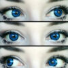dolly 209 blue circle lenses, colored lenses, dolly eyes,kawaii eyes.cosplay lenses