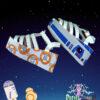 stars wars inspired sandals pastel dreams blue orange droids cute kawaii sweet harajuku