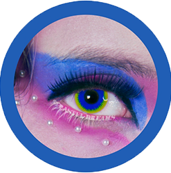 hydra colored contact lenses, circle lenses,colour lenses, theatrical lenses