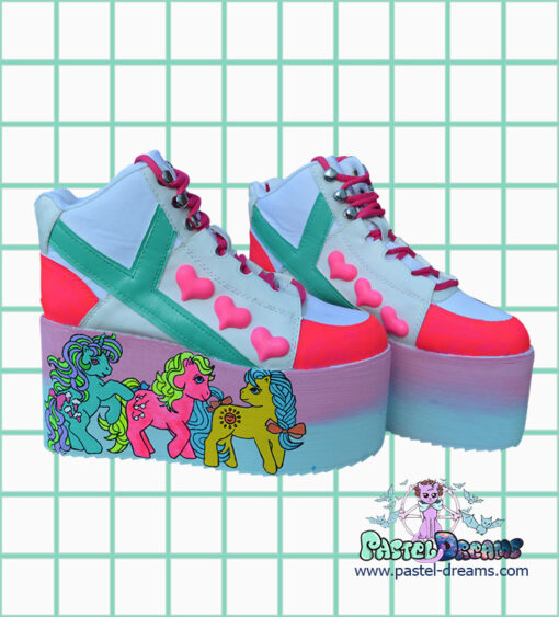8eeeb87ac73 My Little Pony Retro YRU UV Platforms