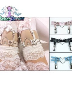 punk goth harajuku kawaii leg garter in various colors fairy kei pastel goth