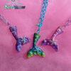 mermaid tail kawaii fairykei pastelgoth grunge harajuku fashion resin hanc casted hand made