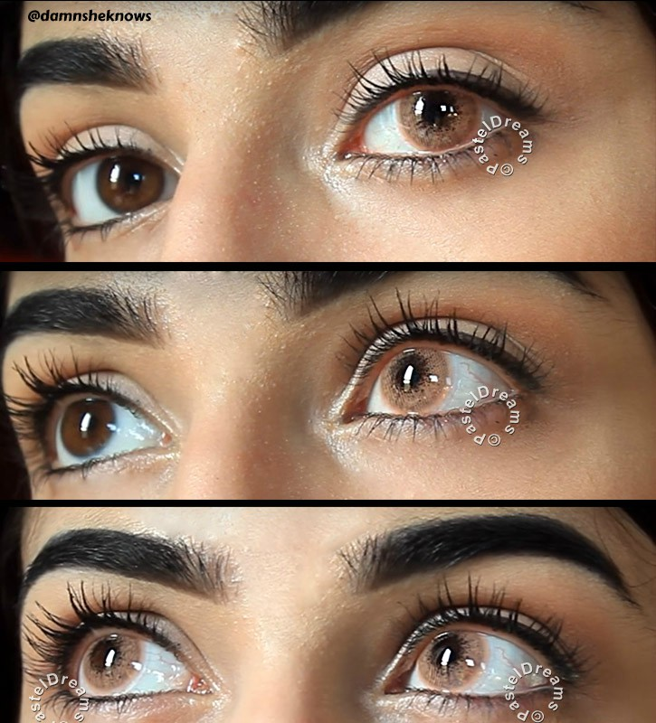 Natural Colored Contacts For Dark Eyes