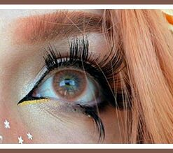 freshtone bronze super natural cosmetic contact lenses, circle lenses, colored contacts model @trashiiie
