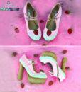 cake shoes daydream strawberry heels pastel dreams custom kawaii cute pink sweet ice cream