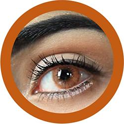 Freshtone super natural bronze contact lenses cosplay lenses, circle lenses, colored contacts, costume lenses