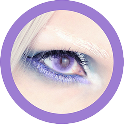 Freshtone super natural sweet violet contact lenses cosplay lenses, circle lenses, colored contacts, costume lenses