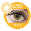 Super naturals hazelnut colored contact lenses by freshtone