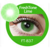 Super naturals lime green colored contact lenses by freshtone