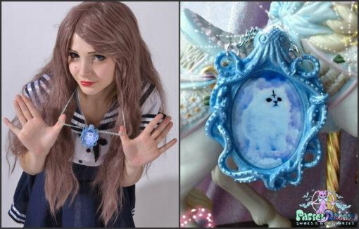 make your kitty a pendant  !!!! New cthulhu Kitties