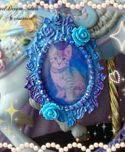 make your kitty a pendant  !!!! New cthulhu Kitties