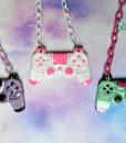 ps4 controllers necklace geeky