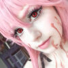 red colored contact lenses, halloween lenses, crazy lenses, red contacts, vampire eyes,theatrical lenses