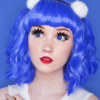 EOS fancy f20 royal blue theatrical lenses, colored contact lenses cosplay lenses, circle lenses, colored contacts, costume lenses