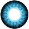 EOS Super Neon 209 blue colored contact lenses cosplay lenses, circle lenses, colored contacts, costume lenses