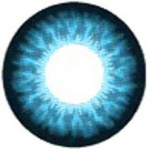 EOS Super Neon 209 blue colored contact lenses cosplay lenses, circle lenses, colored contacts, costume lenses