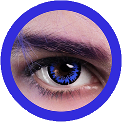 EOS fancy f20 royal fancy theatrical lenses, colored contact lenses cosplay lenses, circle lenses, colored contacts, costume lenses