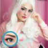 EOS dark ice blue colored contact lenses cosplay lenses, circle lenses, colored contacts, costume lenses
