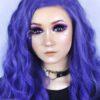 EOS Super Neon 209 violet colored contact lenses cosplay lenses, circle lenses, colored contacts, costume lenses