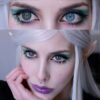 EOS Baron gray colored lenses, colored contact lenses cosplay lenses, circle lenses, colored contacts, costume lenses