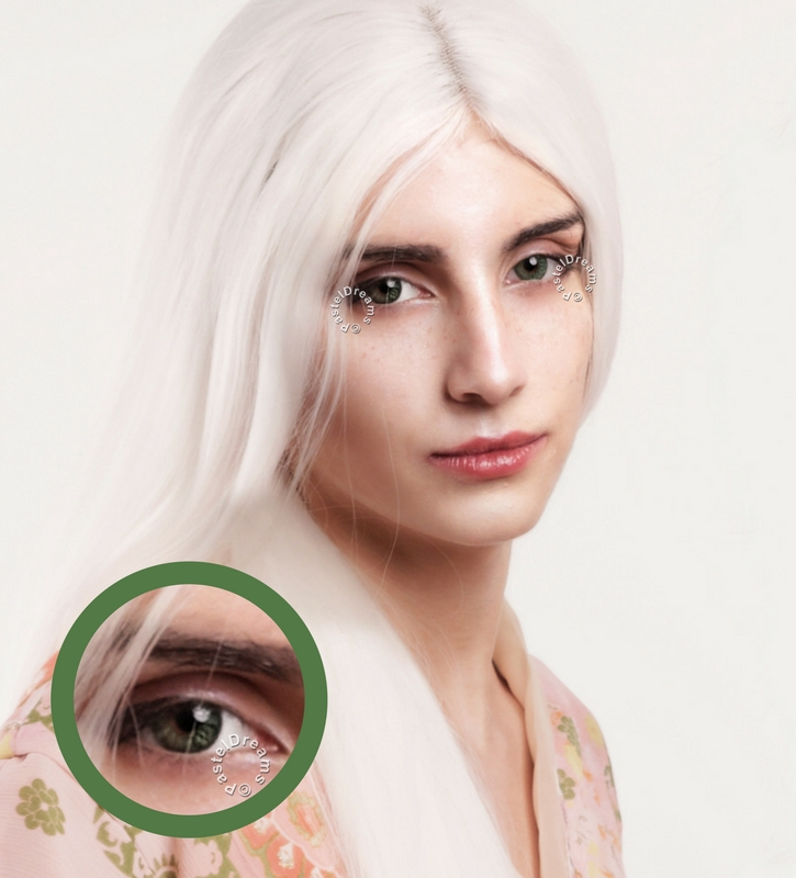 EOS Baron green colored lenses, colored contact lenses cosplay lenses, circle lenses, colored contacts, costume lenses