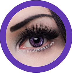 EOS Baron violet colored lenses colored contact lenses cosplay lenses, circle lenses, colored contacts, costume lenses