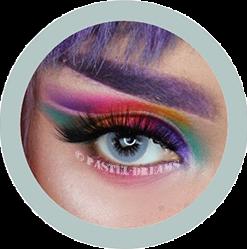 eos Bubble 101 gray colored contact lenses cosplay lenses, circle lenses, colored contacts, costume lenses