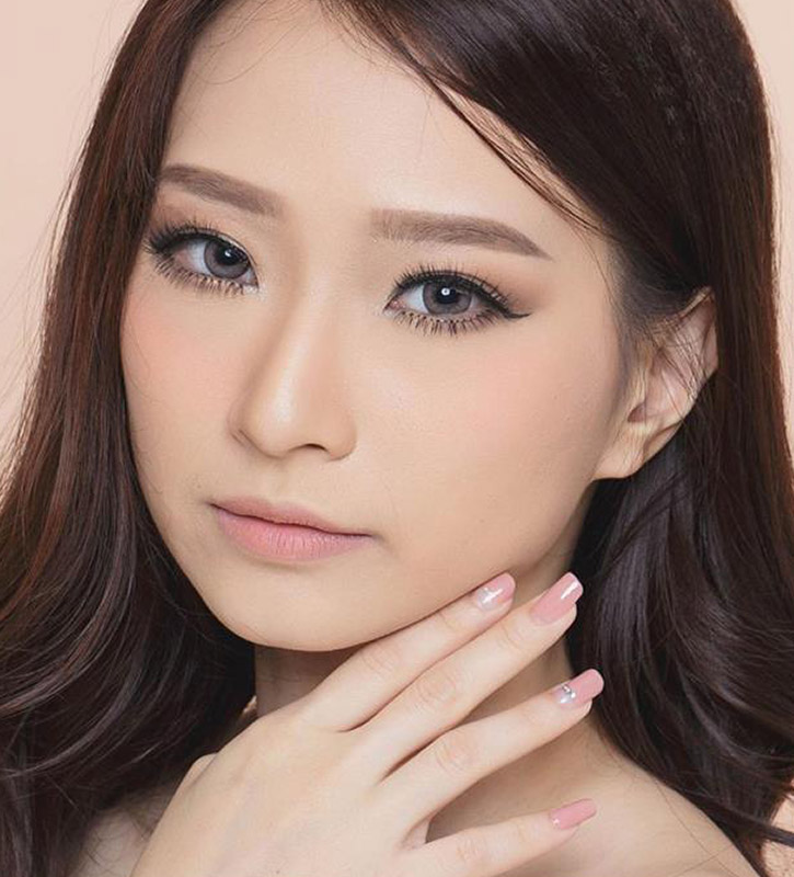 EOS Luna Natural Cacao brown colored contact lenses cosplay lenses, circle lenses, colored contacts, costume lenses, natural lenses