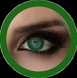 EOS 223 dark green colored contact lenses cosplay lenses, circle lenses, colored contacts, costume lenses