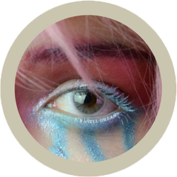 Eos Sole 1T ivory colored contact lenses cosplay lenses, circle lenses, colored contacts, costume lenses by eos