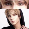 eos vega gray colored contact lenses cosplay lenses, circle lenses, colored contacts, costume lenses