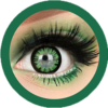 sassy girl 215 green colored contact lenses cosplay lenses, circle lenses, colored contacts, costume lenses