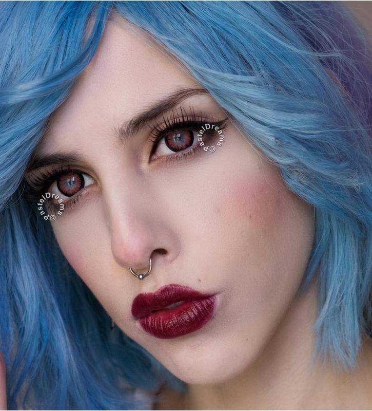 sassy girl 215 hazel colored contact lenses cosplay lenses, circle lenses, colored contacts, costume lenses