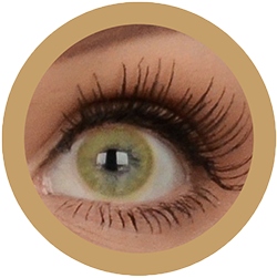 Eos Sole 1T brown colored contact lenses cosplay lenses, circle lenses, colored contacts, costume lenses by eos