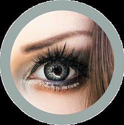 EOS Super Neon 209 gray colored contact lenses cosplay lenses, circle lenses, colored contacts, costume lenses