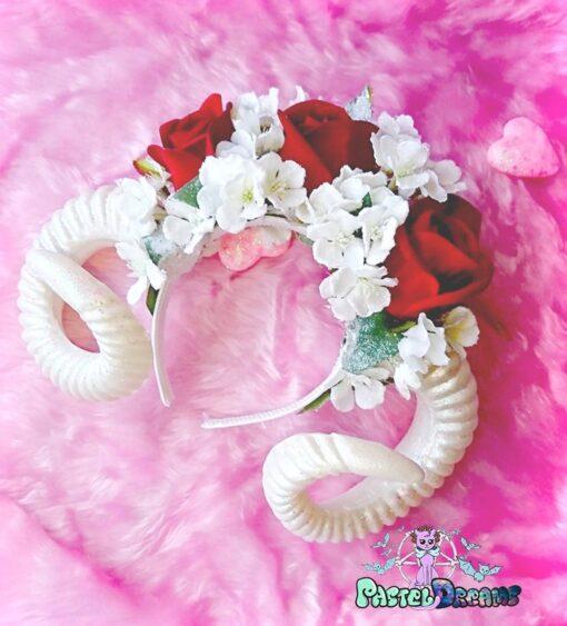 handmade frozen headpiece